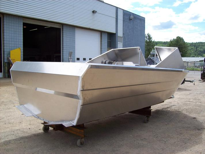 Timotty: Free access Welded aluminum boat building